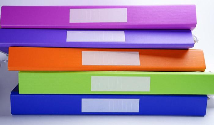how to organize your school binders